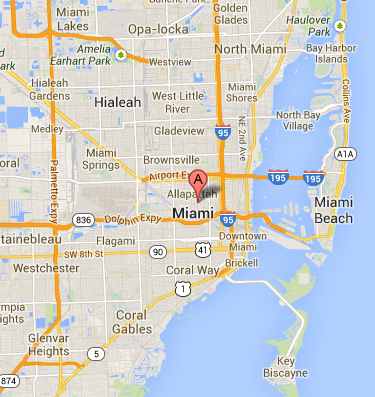 map of miami for data recovery
