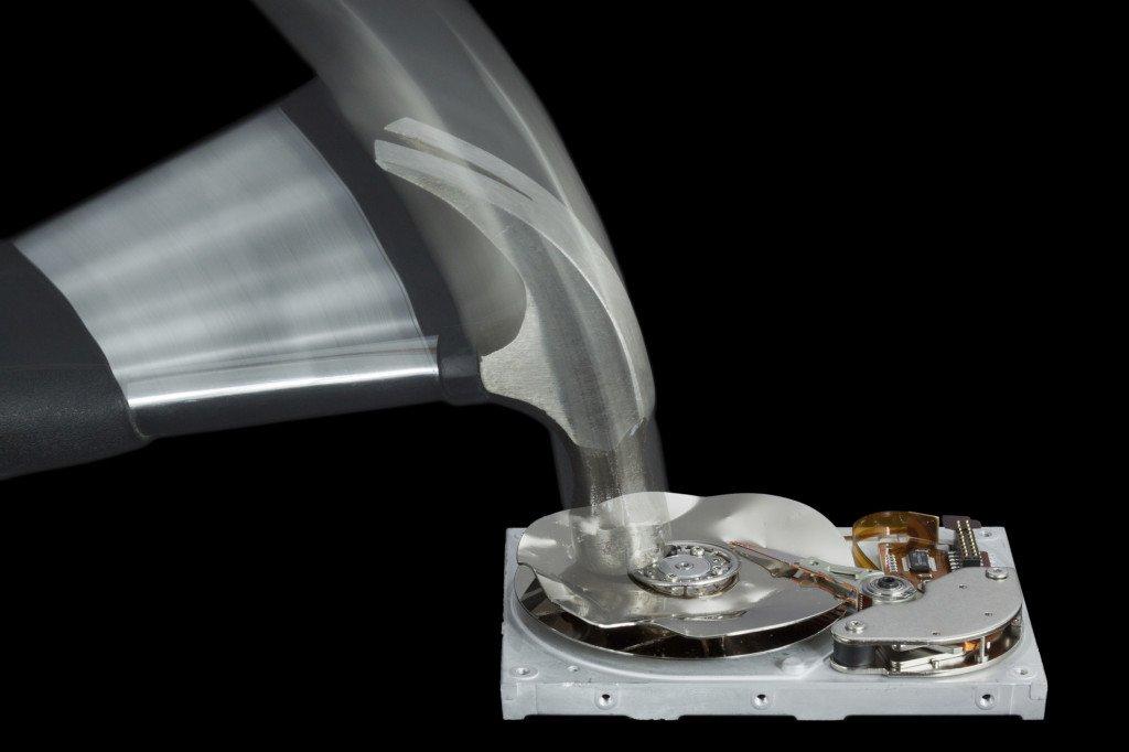 damage-hard-drive